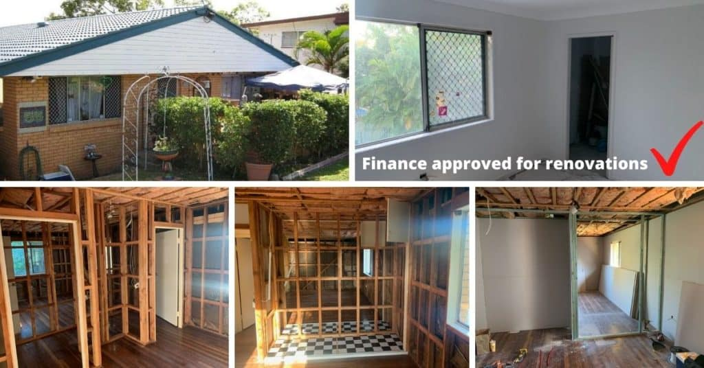 Finance approved for renovations